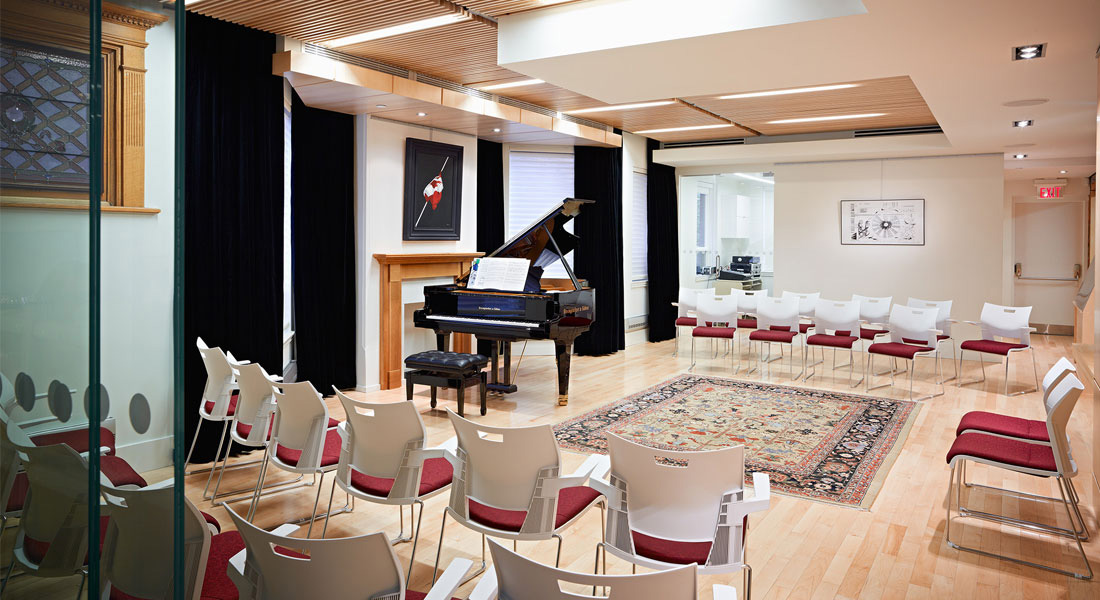 Perfect for your next concert, seminar or meeting!